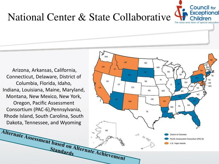 National Center & State Collaborative