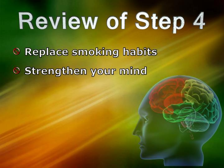 Replace smoking habits
