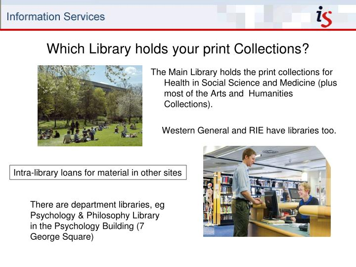 Which Library holds