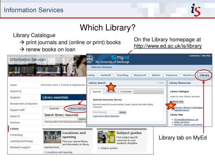 Which Library?