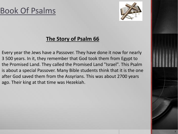 The Story of Psalm 66