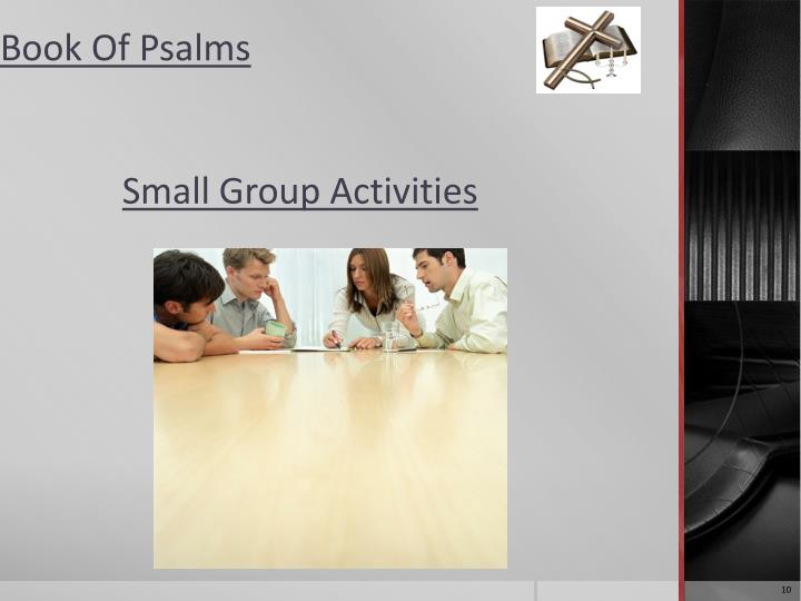 Small Group Activities