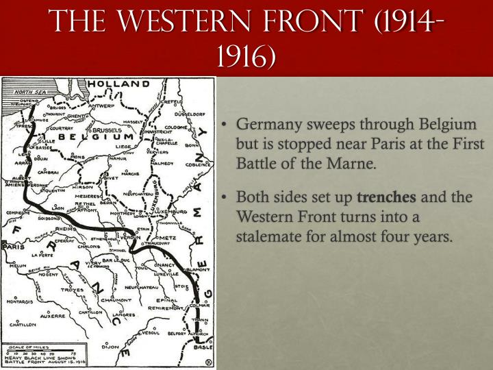 The Western Front (1914-1916)