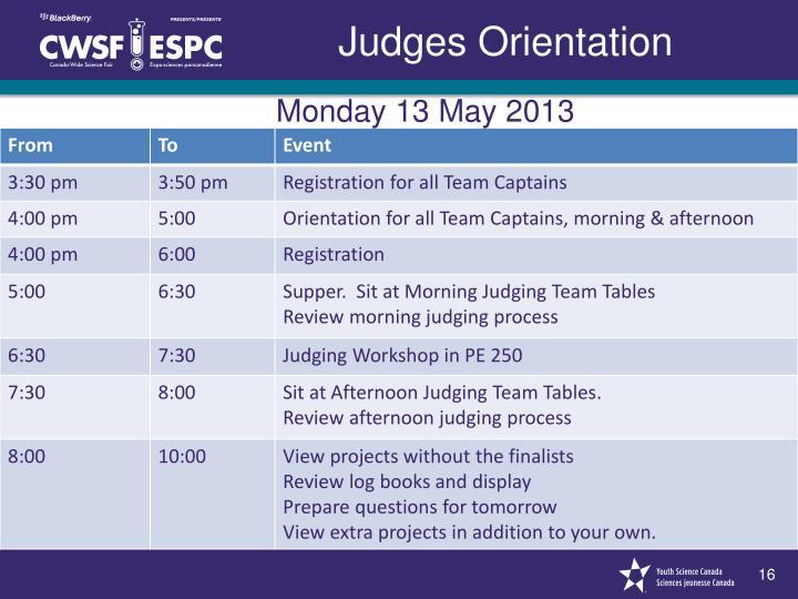 Monday 13 May 2013