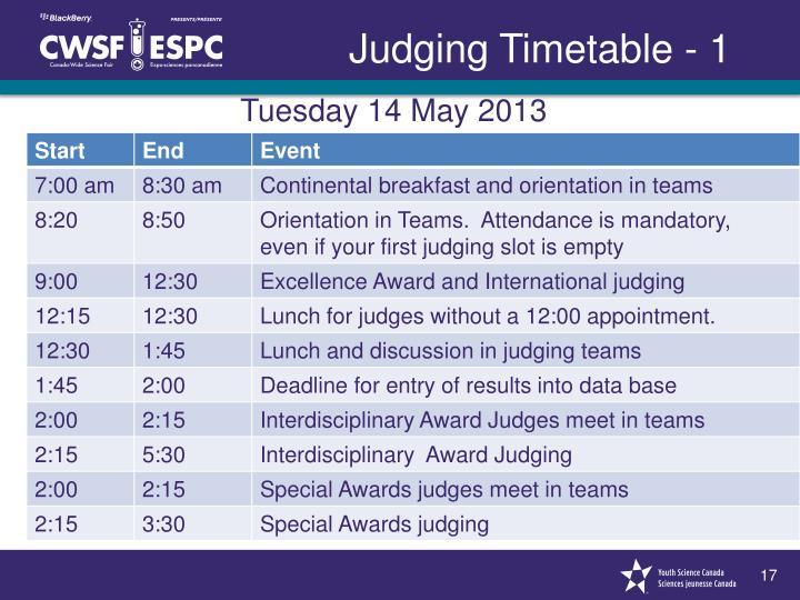 Tuesday 14 May 2013