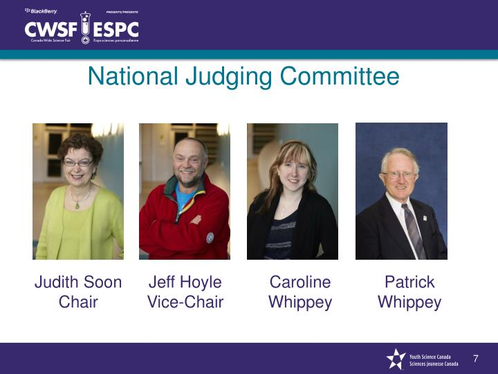 National Judging Committee