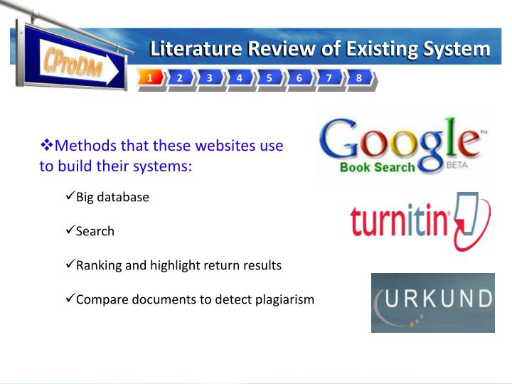 Literature Review of Existing System