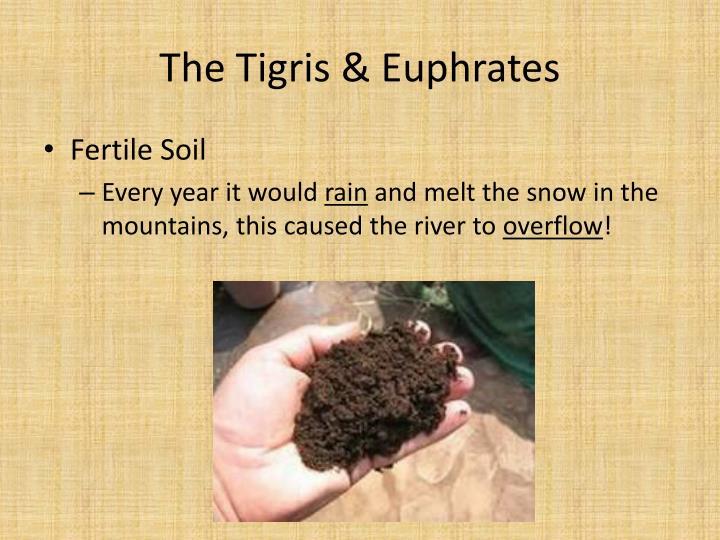 The Tigris & Euphrates