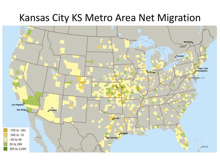 Kansas City KS Metro Area Net Migration