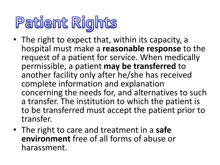 Patient Rights
