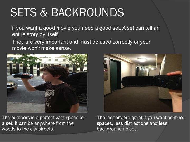 SETS & BACKROUNDS