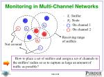 monitoring in multi channel networks