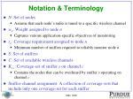 notation terminology