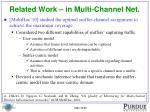 related work in multi channel net