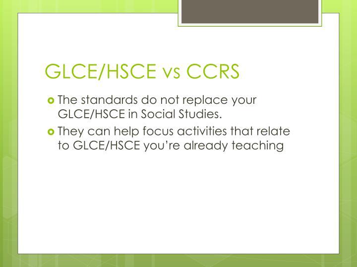 GLCE/HSCE