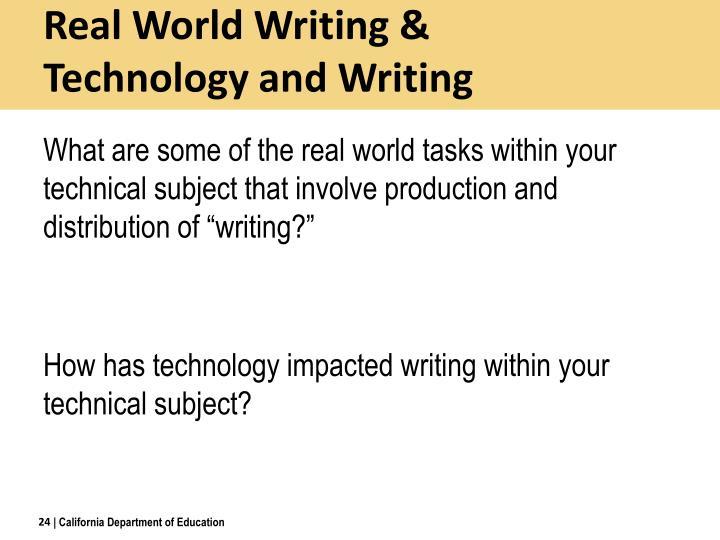Real World Writing &