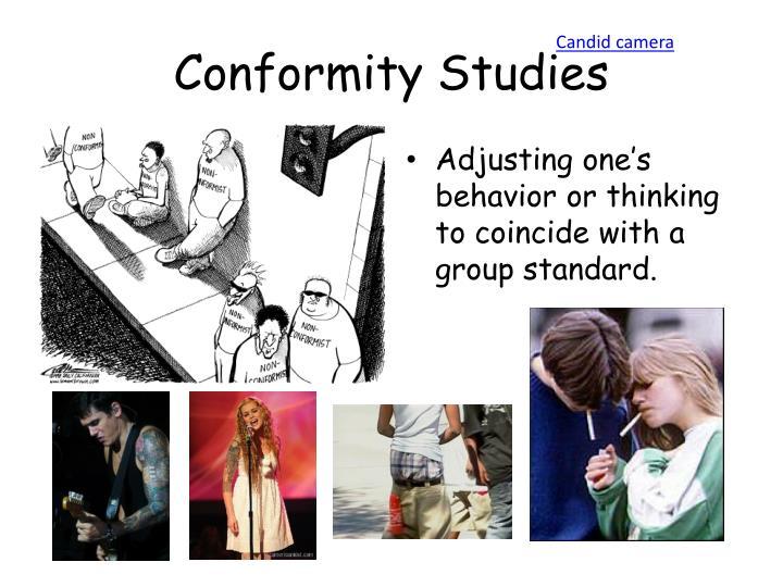 Conformity Studies