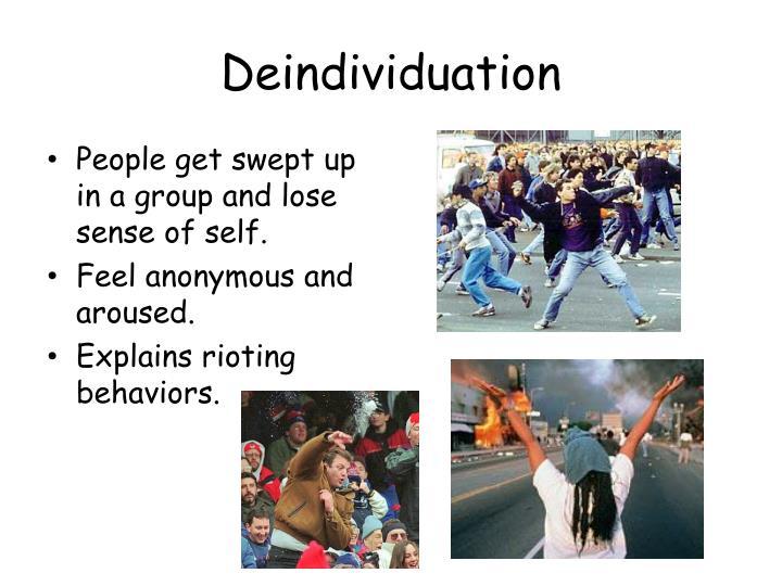 Deindividuation