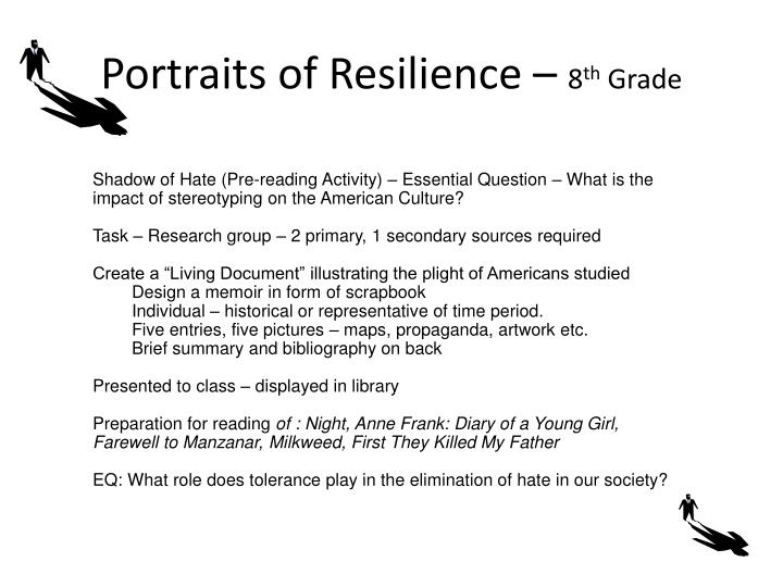 Portraits of Resilience –