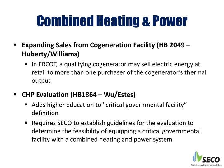 Combined Heating & Power