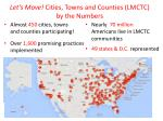 let s move cities towns and counties lmctc by the numbers
