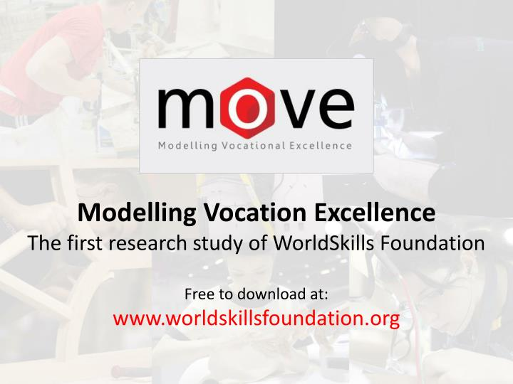 Modelling Vocation Excellence