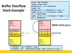 buffer overflow stack example