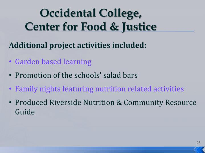 Occidental College,