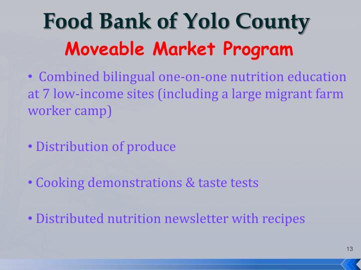 Food Bank of Yolo County