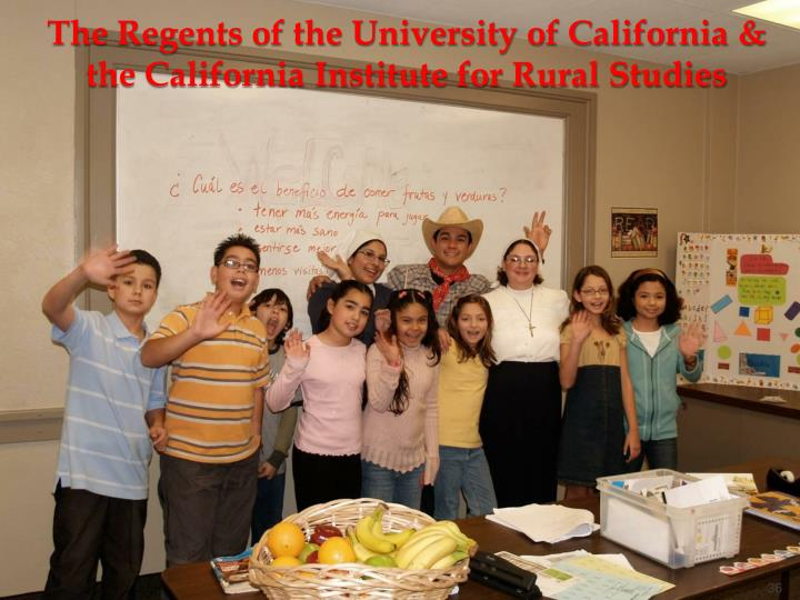 The Regents of the University of California &