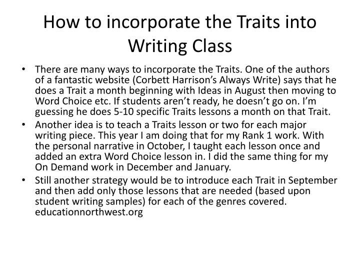 incorporate feedback into my essay paper