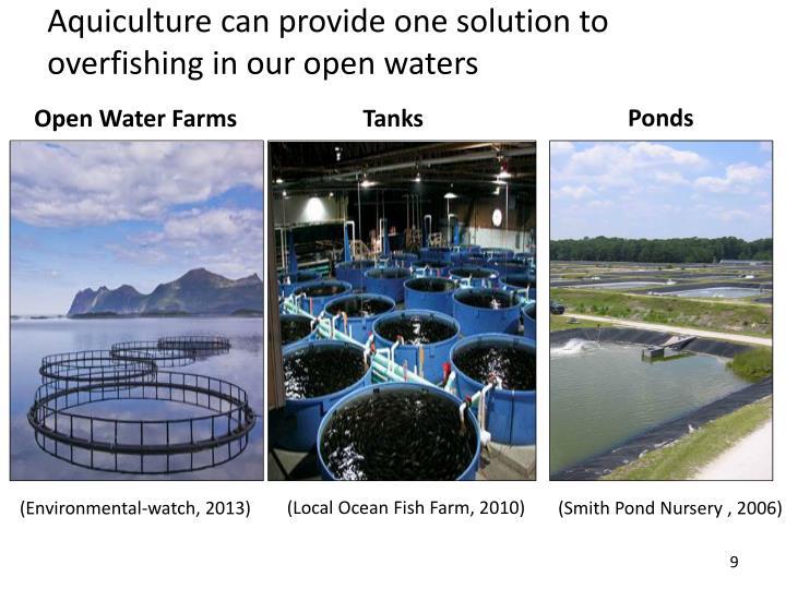 Aquiculture can