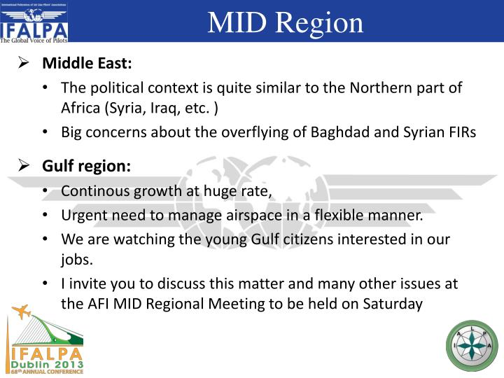 Middle East: