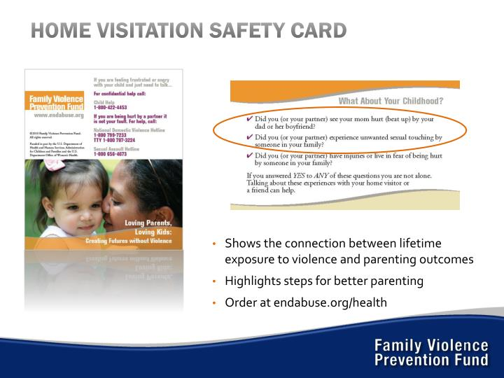 HOME VISITATION SAFETY