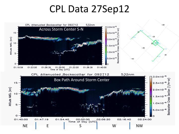CPL Data 27Sep12