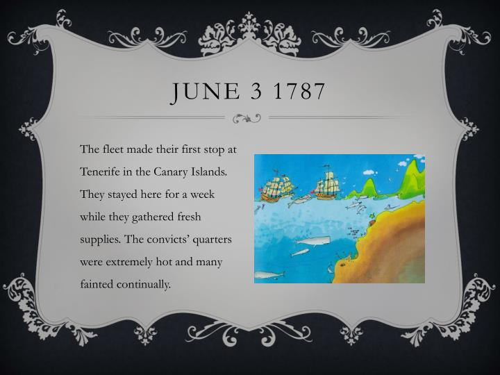 June 3 1787