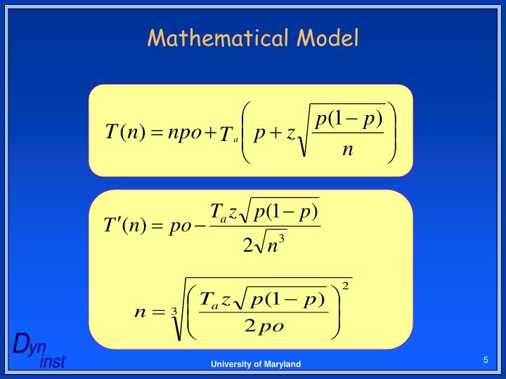 Mathematical Model