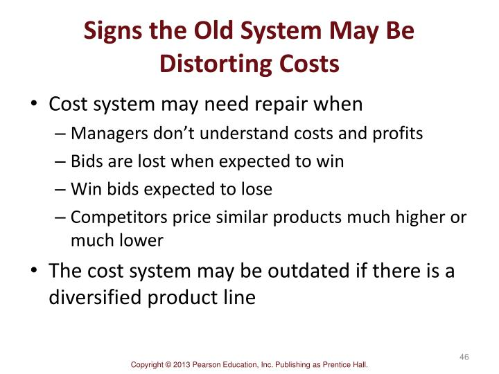 Signs the Old System May Be Distorting Costs