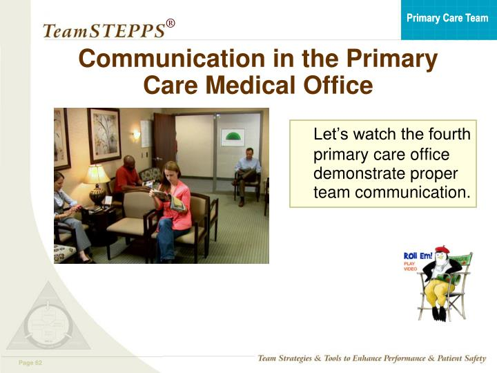 Communication in the Primary