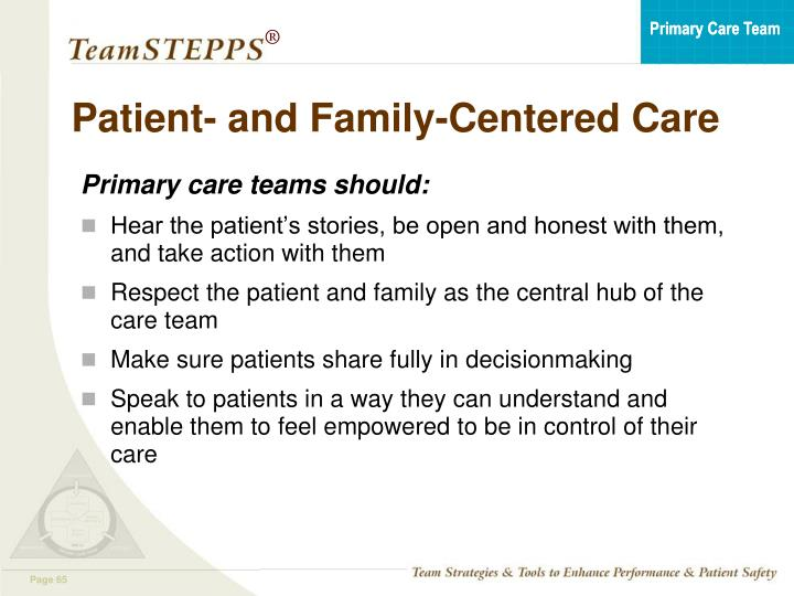 Patient- and Family-Centered Care