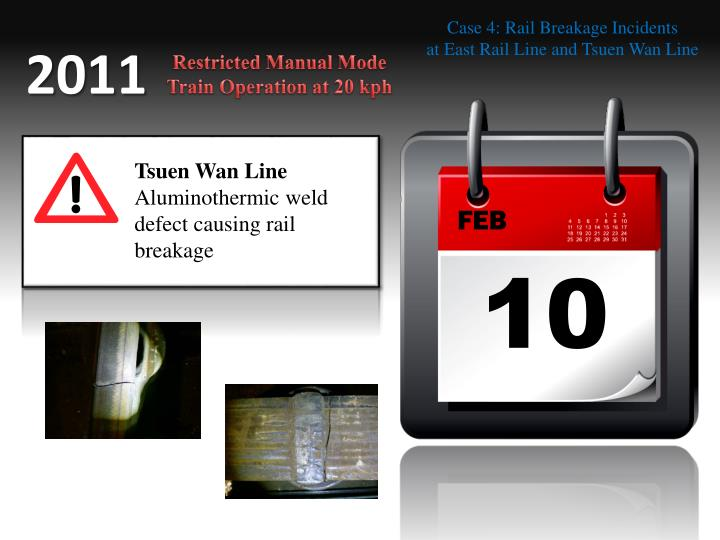 Case 4: Rail Breakage Incidents