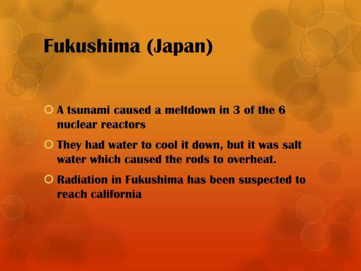 Fukushima (Japan)