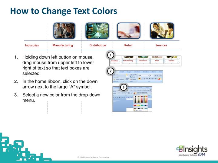 How to Change Text Colors