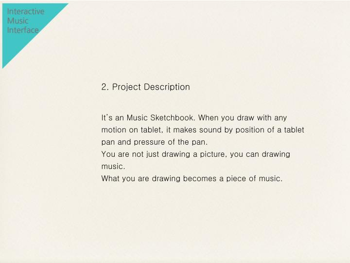 2. Project Description