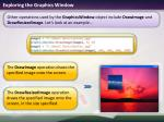 exploring the graphics window2