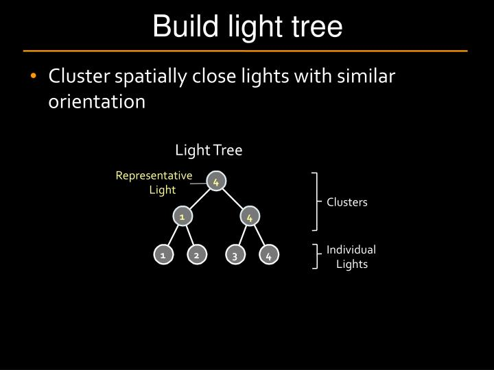 Build light tree