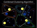 combined clustering algorithm1