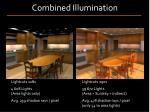 combined illumination