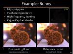 example bunny