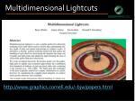 multidimensional lightcuts